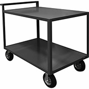 Durham Mfg.® Stock Cart RSCR-2448-ALD-95 with Raised Handle - All Lips Down 1200 Lb. Cap.
