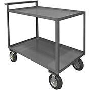 Durham Mfg.® Stock Cart RSCR-3048-95 with Raised Handle - 48 x 30 All Lips Up 1200 Lb. Cap.