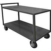 Durham Mfg.® Stock Cart RSCR-3060-ALD-95 with Raised Handle - All Lips Down 1200 Lb. Cap.