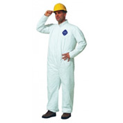 Tyvek® Coveralls, DUPONT TY120S-4XL, Case Of 25