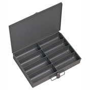 Durham Steel Scoop Compartment Box 213-95 - 8 Compartment, 13-3/8x9-1/4x2 - Pkg Qty 6
