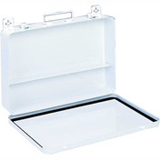 First Aid Box Metal - 13-11/16x2-3/8x9-1/16 - Pkg Qty 6