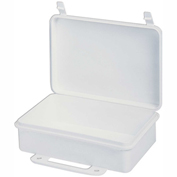 First Aid Box Polypropylene - 9-1/16x2-3/8x6-5/16 - Pkg Qty 36