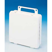 First Aid Box Polypropylene W/ Gasket - 9-1/16x2-3/8x9-1/16 - Pkg Qty 24