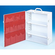First Aid Cabinet 2-Shelf - 15-x5-9/16x16-5/32