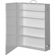 First Aid Cabinet 5-Shelf - 19-1/2x5-1/2x26