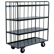 Durham Mfg® Three-Sided Shelf Truck OPT-3624-95 36x24
