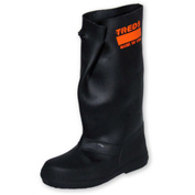 "TREDS 17"" Rubber Slush Boots, Men's, Black, Size 5-7, 1 Pair"