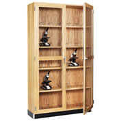 Tall Microscope Storage Cabinet