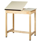 "Drafting Table 36""L x 24""W x 36""H - 2 Piece Top"