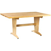 "Planning Table 60""L x 42""W x 30""H - Maple Top"