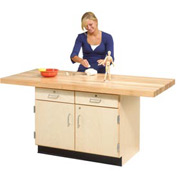 2-Station Workbench W/ 1 Vise