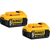 DeWALT® DCB205-2 20V MAX Li-Ion Battery 2-Pack (5.0 AH)