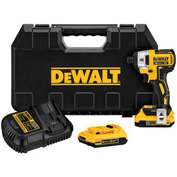 "DeWALT® DCF886D2 20V MAX XR Lithium-Ion Brushless 1/4"" Impact Driver 2.0AH Kit"