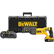 DeWALT® DCS380P1 20V MAX Lithium Ion Reciprocating Saw Kit (5.0 AH)