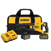DeWalt DCS388T2 Flexvolt 60V Max Brushless Reciprocating Saw With 2 Battery Kit