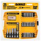 DeWALT® Screwdriving Set w/Toughcase®, DW2167, 25 Pieces