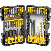 DeWALT® Impact Ready Drilling/Fastening Set, DW2180, 35 Pieces