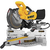 "DeWALT® Miter Saw, DW717, 10"" Double-Bevel Sliding Compound Miter Saw, 4000 RPM"