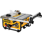 "DeWALT® DWE7480 10"" Compact Job Site Table Saw w/ Site-Pro™ Guarding System"