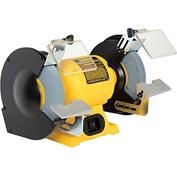 "DeWALT® Bench Grinder, DW758, 8"" Wheel Diameter, 3/4 HP, 3600 RPM"