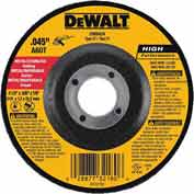 "DeWalt DW8425 Metal & Stainless Cutting Wheel Type 27 5"" DIA. 2 60 Grit Aluminum Oxide - Pkg Qty 25"