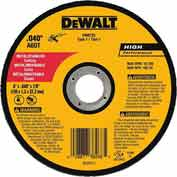 "DeWalt DW8725 Metal & Stainless Cutting Wheel 6"" DIA..040"" Thick 60 Grit Aluminum Oxide - Pkg Qty 25"
