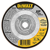 "DeWalt DWA8907 XP Ceramic Metal Grinding Wheels Type 27 4-1 2"" x 5 8"" -11 24 Grit Ceramic..."