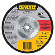 "DeWalt DWA8927 XP Ceramic Metal Grinding Wheels Type 27 7"" x 5 8"" -11 24 Grit Ceramic..."