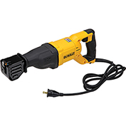 DeWALT® DWE305 12 Amp Keyless Variable Speed Corded Reciprocating Saw