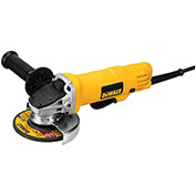 "DeWALT® DWE4012 4-1/2"" 7.5-Amp Paddle Switch Corded Angle Grinder"