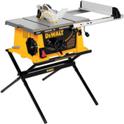 "DeWALT® DWE7490X 10"" Job Site Table Saw w/ Scissor Stand"