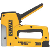 DeWALT DWHTTR350 Heavy Duty Aluminum Staple Gun & Brad Tacker Package Count 4