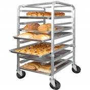 "Winco ALRK-10 - 10-Tier Sheet Pan Rack, 39""H"