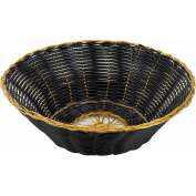 Winco PWBK-8R Round Woven Basket Package Count 3