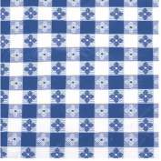 Winco TBCO-90B Checkered Table Cloth , 90