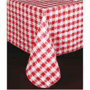 Winco TBCS-52R Checkered Table Cloth , 52