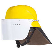 Mullion 2MZP Firefighter Helmet, SOLAS, Yellow, Adult/Universal