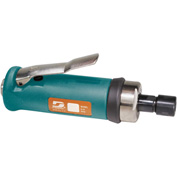 "Dynabrade 52258 .7HP Straight-Line Die Grinder, 20,000 RPM, Gearless, Front Exhaust, 1/4"" Collet"
