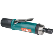 "Dynabrade 52278 .7HP Straight-Line Die Grinder, 20,000 RPM, Gearless, Ext. Rear Exhaust, 1/4"" Collet"