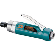 "Dynabrade 52667 1HP Straight-Line Die Grinder, 15,000 RPM, Gearless, Rear Exhaust, 1/4"" Collet"