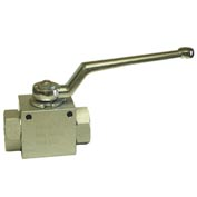 "Dynamic DE2-16-SAE, High Pressure Ball Valve 1 5/16-12"" SAE Thread 5000 PSI"