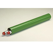 "Mailing Tube With Cap, 9""L x 2"" Diameter x 0.06 Wall Thickness, Green, 50 Pack"
