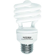 Earthtronics CF18DL1BT2E T2 Mini Spiral CFL Bulb, 18W, 6500K, 1200 Lumens