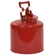 Eagle Disposal Can Galvanized - Red - 5 Gallons, 1425