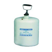 Eagle Type I Poly Safety Can - 5 Gallons - White, 1541
