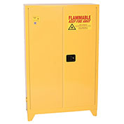 Eagle Flammable Liquid Tower™ Safety Cabinet with Manual Close - 45 Gallon