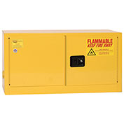 Eagle Flammable Liquid Safety Cabinet with Self Close - 15 Gallon