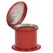 Eagle Daub Can - Metal - Red - 1/4 qt., B-600-D