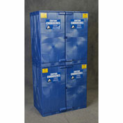 Eagle Poly Acid & Corrosive Cabinet with Manual Close - 48 Gallon